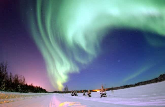 Aurora Boreal na Antardida