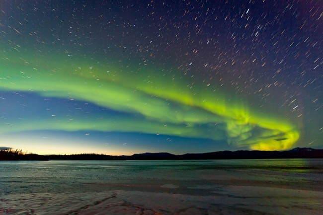 Aurora Boreal na Nova Zelândia