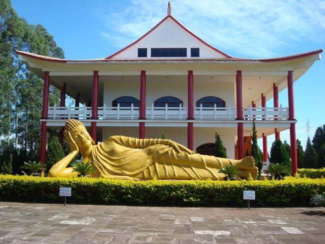 templos budistas do Brasil Foz do Iguaçu