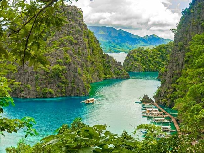Com paisagem surreal, Ilha de Coron é um paraíso perdido em Filipinas