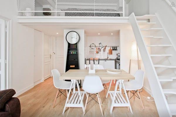 Apartamentos estilosos em Paris