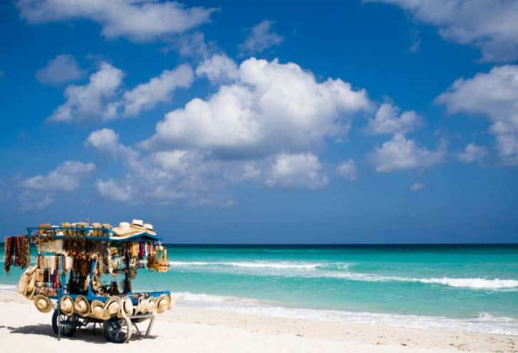 varadero destinos mais baratos no Caribe