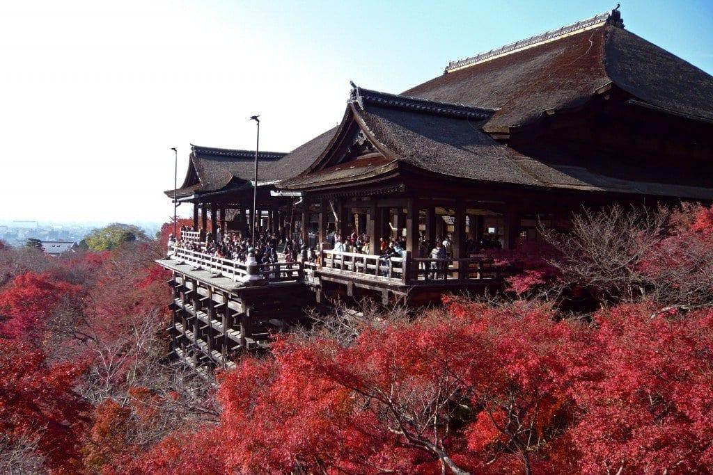 Os 5 principais templos em Quioto