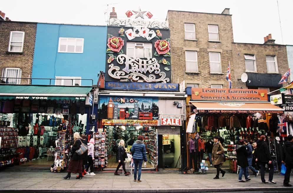 Camden Town: um reduto alternativo e maluco em Londres