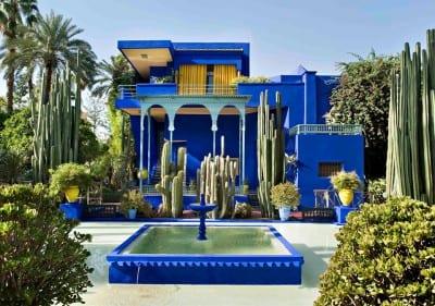 O exuberante Jardim Majorelle: oásis botânico de Yves Saint Laurent em Marrakech