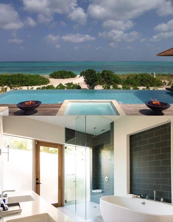 10 casas alucinantes para alugar com vista para o mar