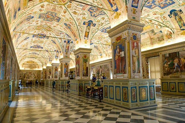Vaticano-Biblioteca