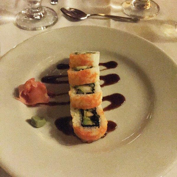 Royal Decameron Barú sushi