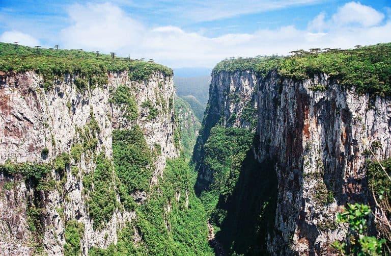 Parques nacionais onde ficam os cânions Itaimbezinho e Fortaleza agora são de iniciativa privada