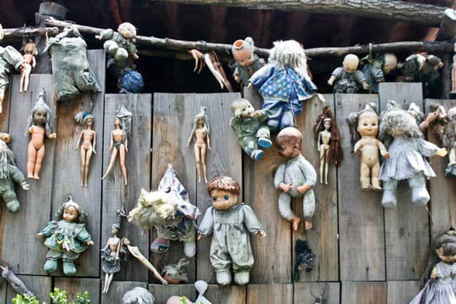 ilha das bonecas