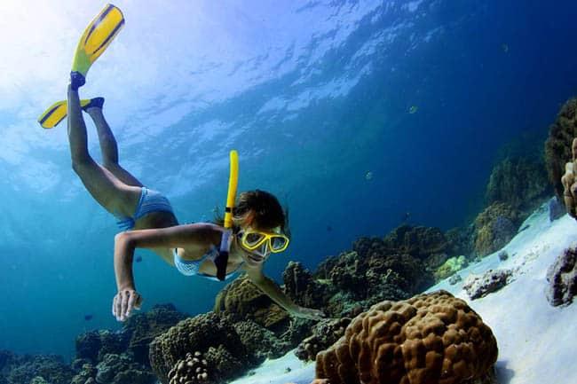10 lugares lindos no mundo para fazer snorkel