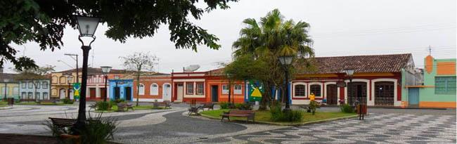 cidades históricas no Brasil Iguape SP
