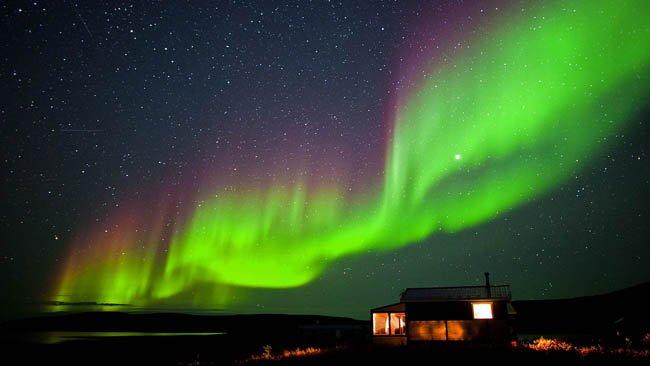 Aurora Boreal na Noruega