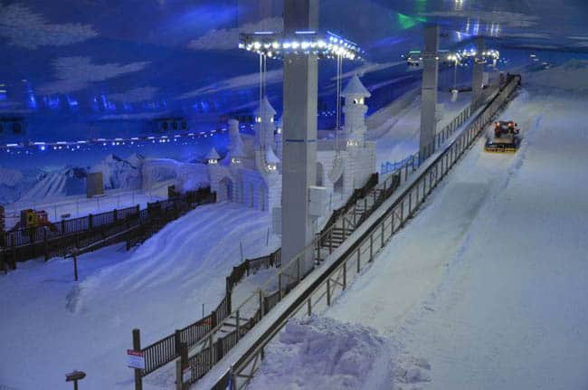 Parque Snowland Gramado vista