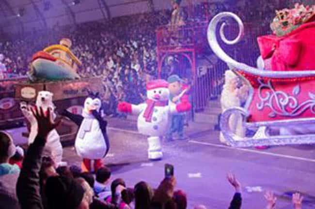 Parque Snowland Gramado desfile natal