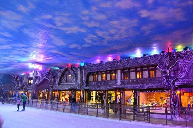 Parque Snowland Gramado lojas