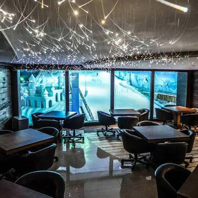 Parque Snowland Gramado café