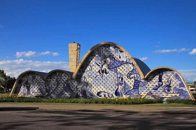 Igrejas incríveis no Brasil IgrejaPampulha2