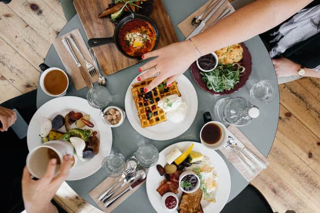 Meal Sharing refeições