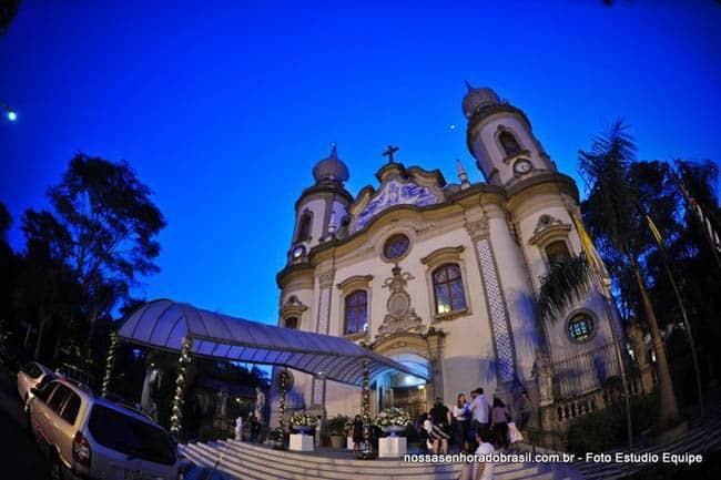 Igrejas incríveis no Brasil NSBR