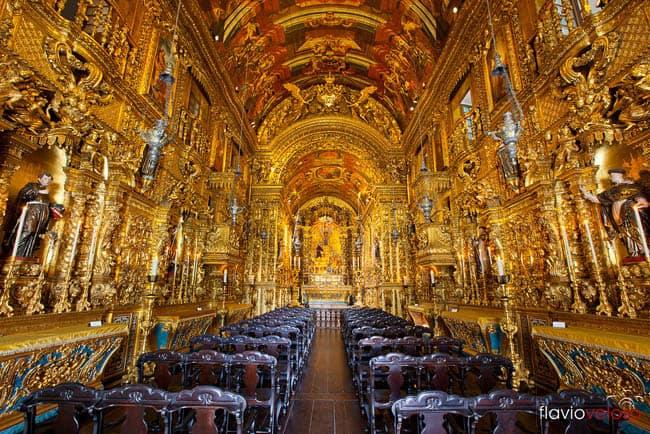 Igrejas incríveis no Brasil OrdemTerceiradeSFrancisco_RJ