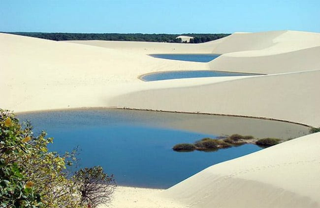 lugares para viajar a dois no Brasil Delta do Parnaíba PI