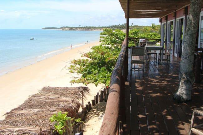 lugares para viajar a dois no Brasil Ponta do Corumbau BA