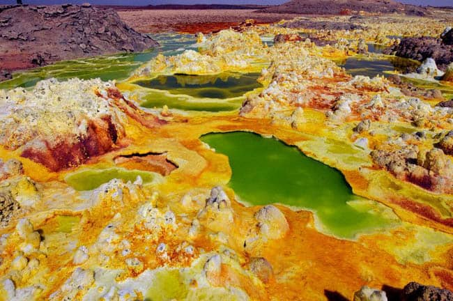 The Danakil Depression - Dallol