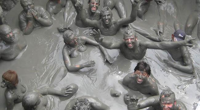 banho de lama