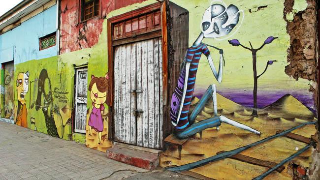 passeios diferentes em Santiago bellavista
