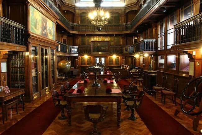 passeios diferentes em Santiago biblioteca nacional chile
