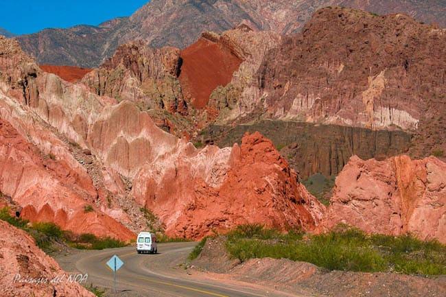 Paraíso vermelho: conheça Quebrada de las Conchas, na Argentina