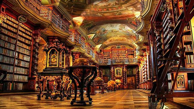 Conheça as bibliotecas mais bonitas do mundo