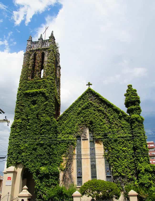 igreja cabeluda