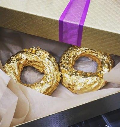 Rosquinhas de ouro são vendidas em restaurante de Nova York