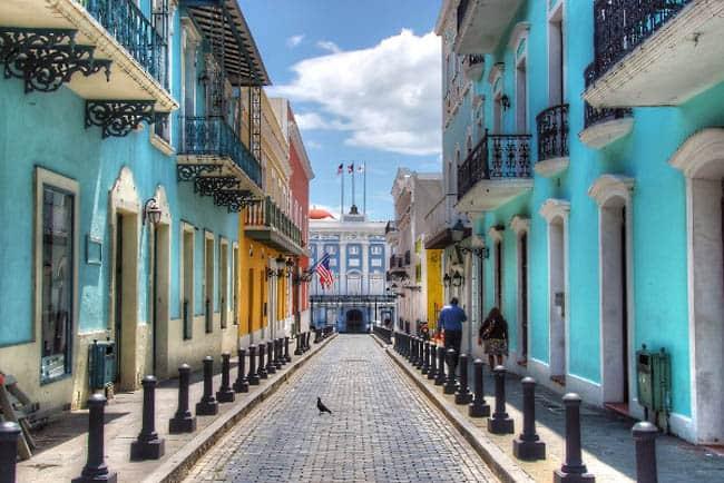 Viejo San Juan-Porto Rico
