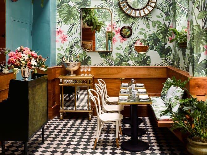 Conheça o estiloso e tropical Leo's Oyster Bar, em São Francisco