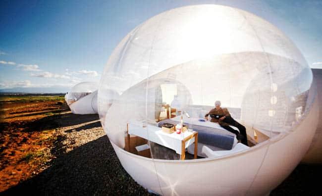 hotel-aire-de-bardenas-bubble-exterior