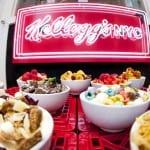 Café da Kellogg's serve uma infinidade de sucrilhos o dia todo em Nova York