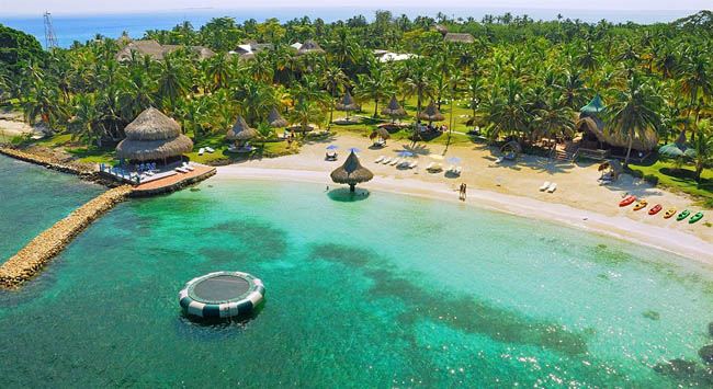 Isla Múcura é um paraíso escondido a poucos quilômetros de Cartagena