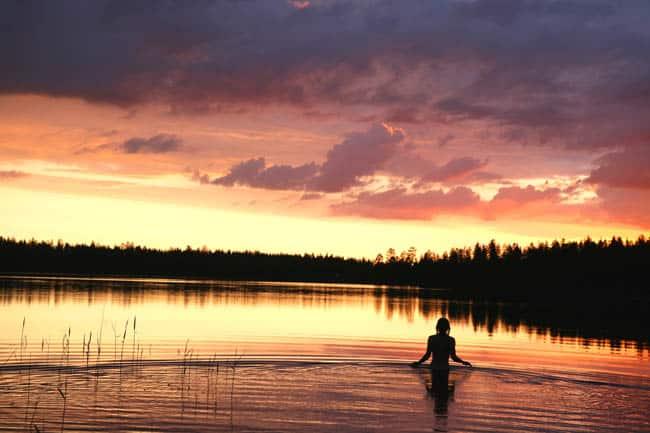 sol da meia noite-finlandia