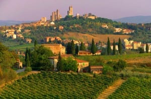 Explore o caminho de Roma a Florença de carro!