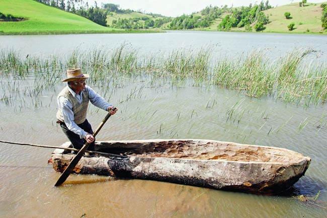 Wampo em Mapuche