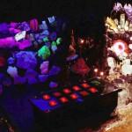 Museu em Amsterdã tem rochas psicodélicas que brilham no escuro