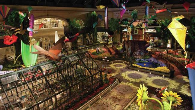 jardim botanico Bellagio-Las Vegas11
