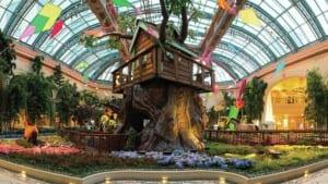 Jardim Botânico do Bellagio é um bom passeio gratuito em Las Vegas