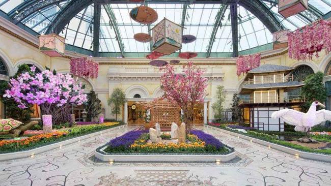 jardim botanico Bellagio-Las Vegas4