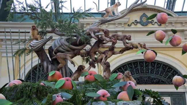 jardim botanico Bellagio-Las Vegas5