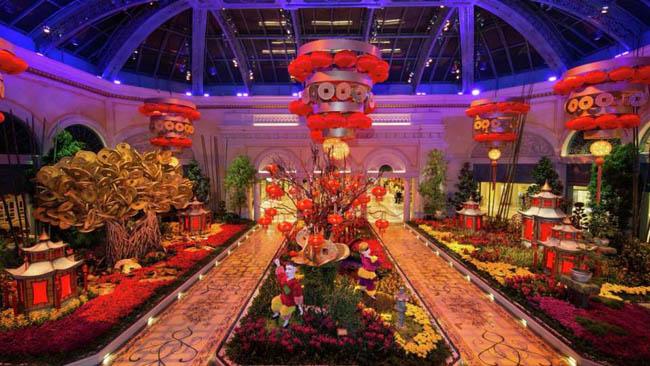jardim botanico Bellagio-Las Vegas6