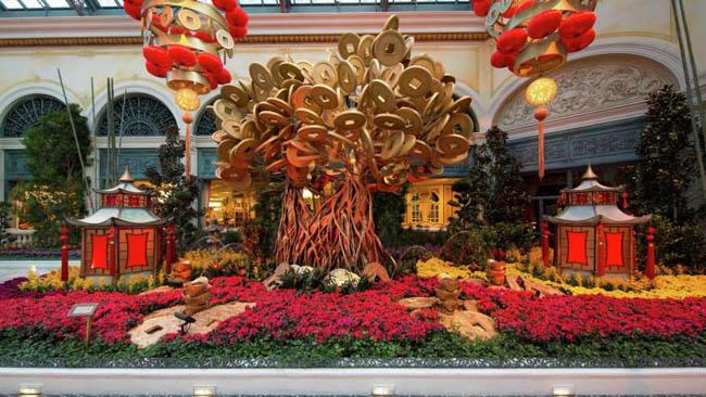 jardim botanico Bellagio-Las Vegas7